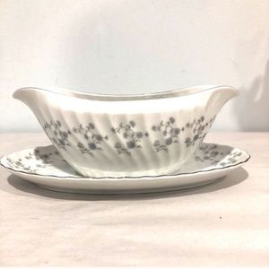 Mikasa forget me not gravy boat